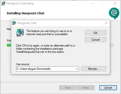 install hangouts for windows 7