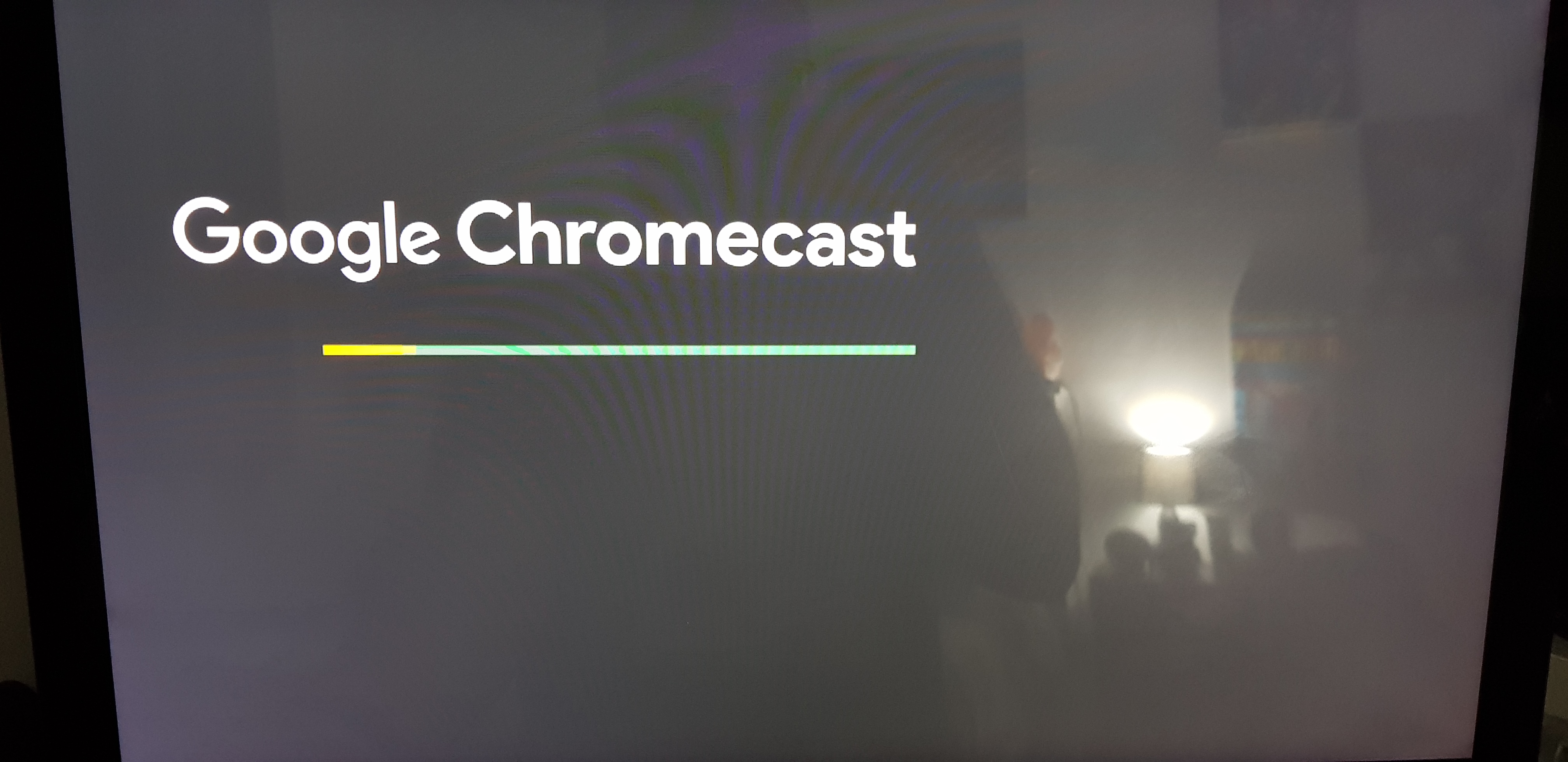 Pink picture - Chromecast Help