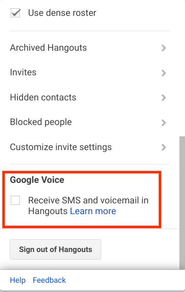 Cannot Re Integrate Google Voice With Hangouts Dislike The Google