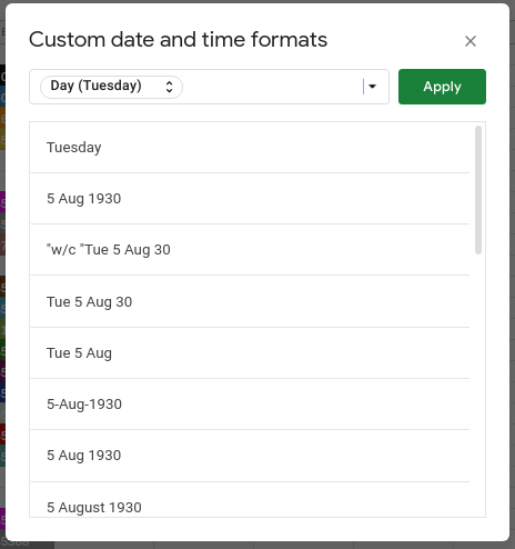 Transforming the Date Format of a Column