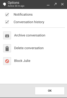 I want to delete someone permanently - Hangouts Help