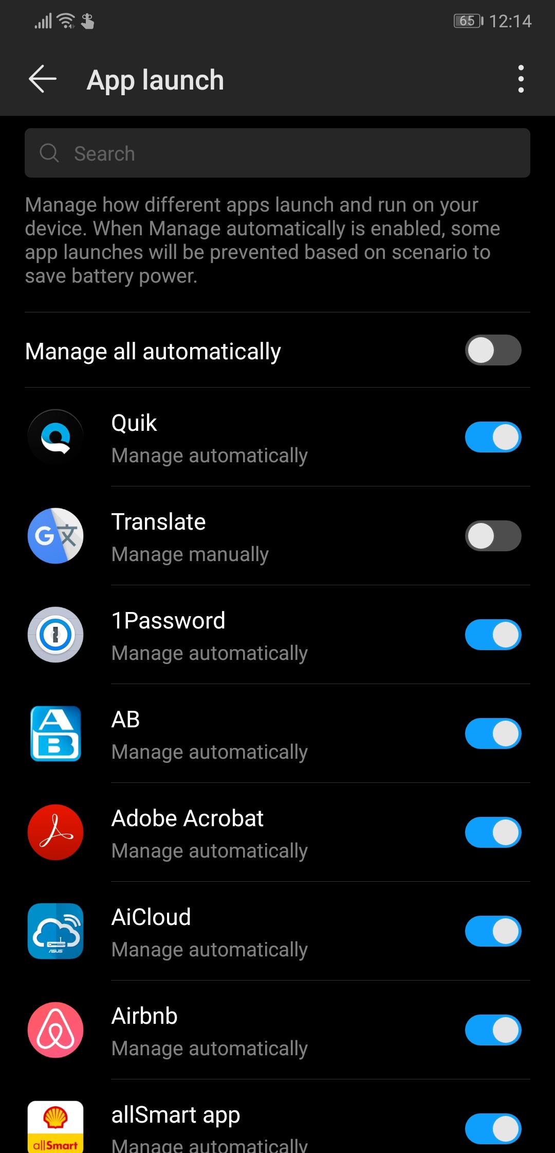 Huawei Y9 2019 Message Settings