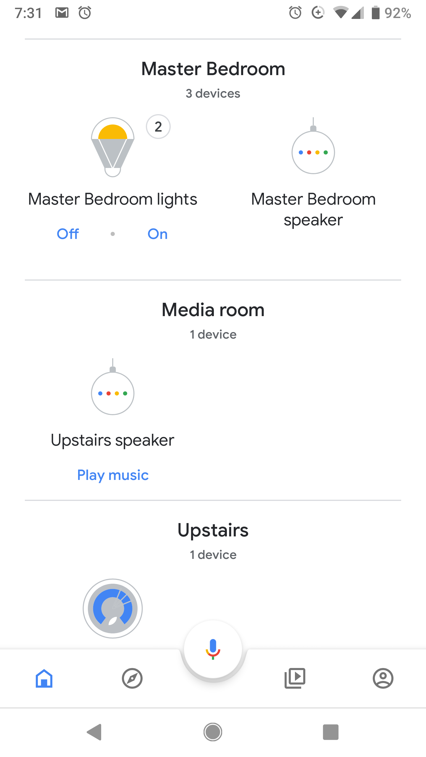 The Google home app keeps classifying my fan as a light  How