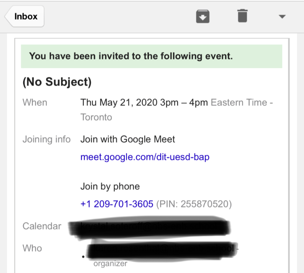 When I Call Someone To Join Our Meeting Are They Charged A Toll Call Google Meet Community