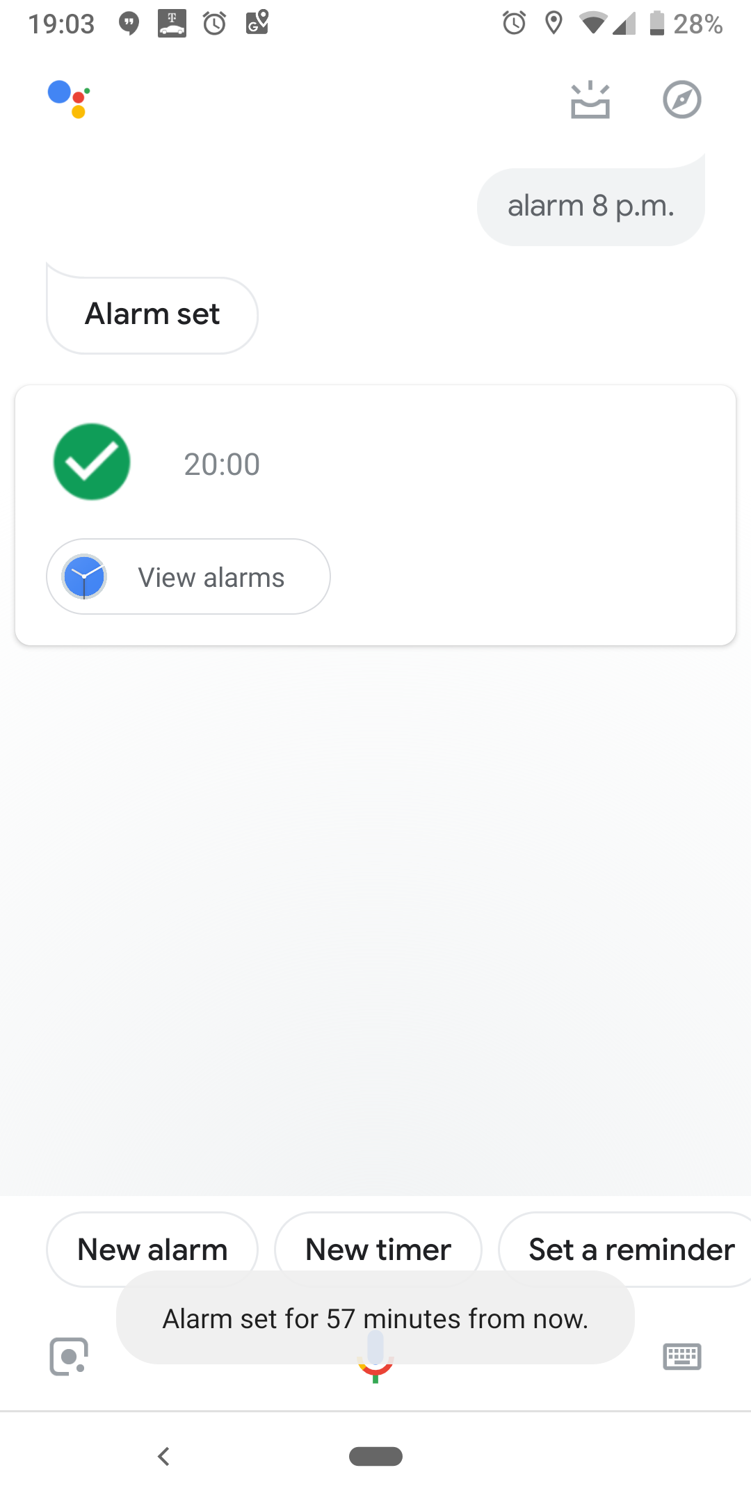 Assistant is not working properly on lock screen  It reacts