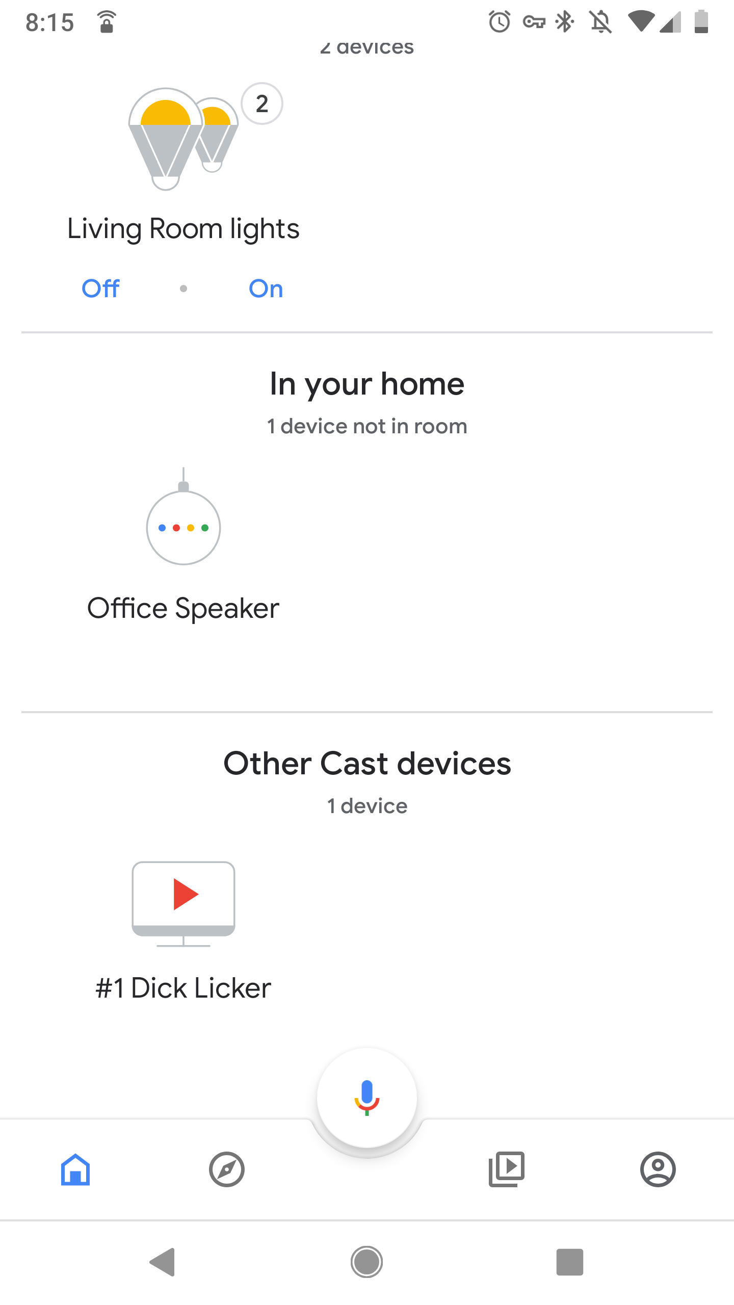 Someone else's cast device shows on my wifi - Google Nest Help