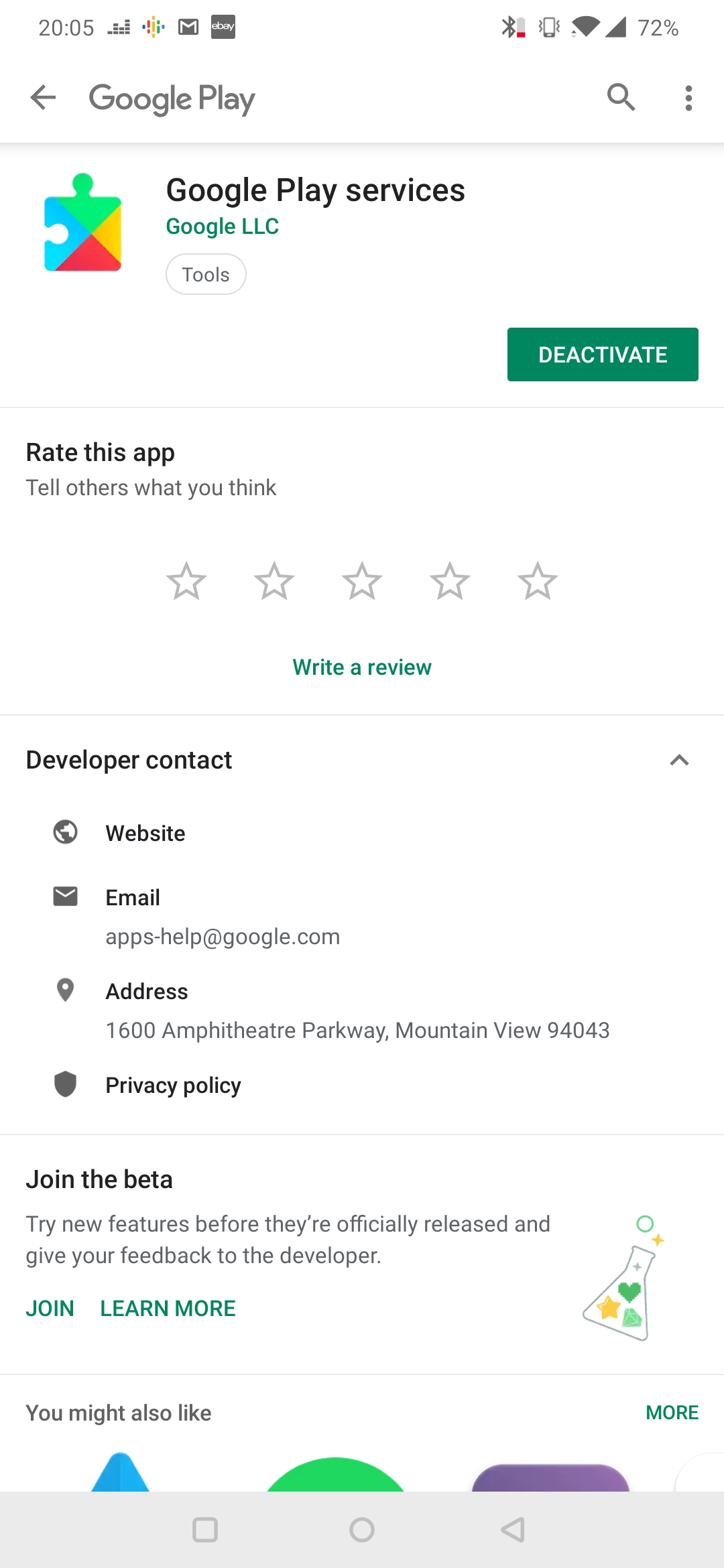 Google Play Services Account Action Required Work Email Google Workspace Admin Community