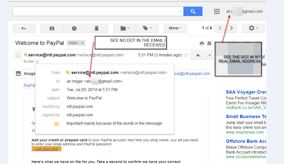 It seems like another person are using my email account