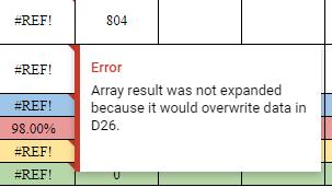 Spreadsheet cannot be found error on importrange() - Docs
