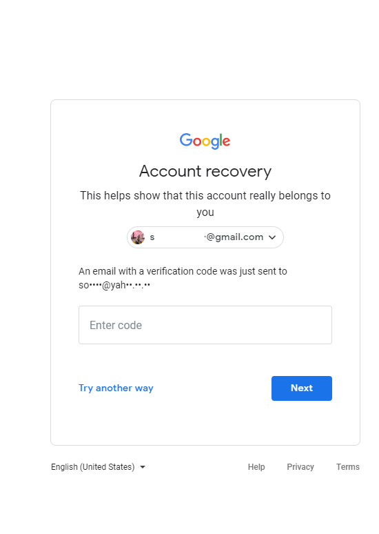 Verification Code Not Being Sent Gmail Community