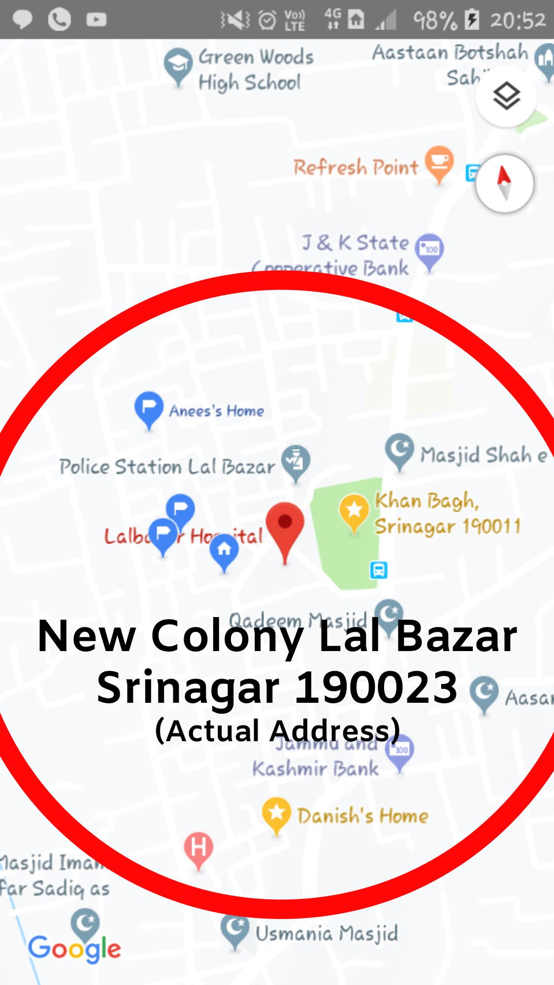 Problem in Google Maps - Google Maps Help