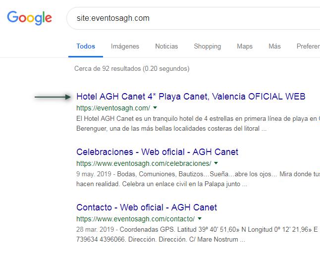 Como Modifico El Nombre De Mi Web En Los Resultados De Google Es Wordpress Pero No Muestra El Titulo Search Console Community