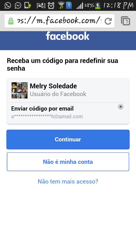 Entrar facebook