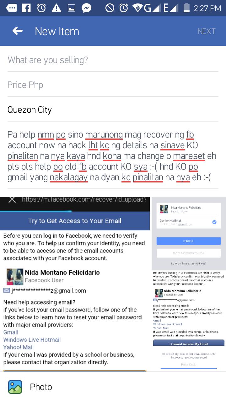 Someone hack my account please help me ????my fb account