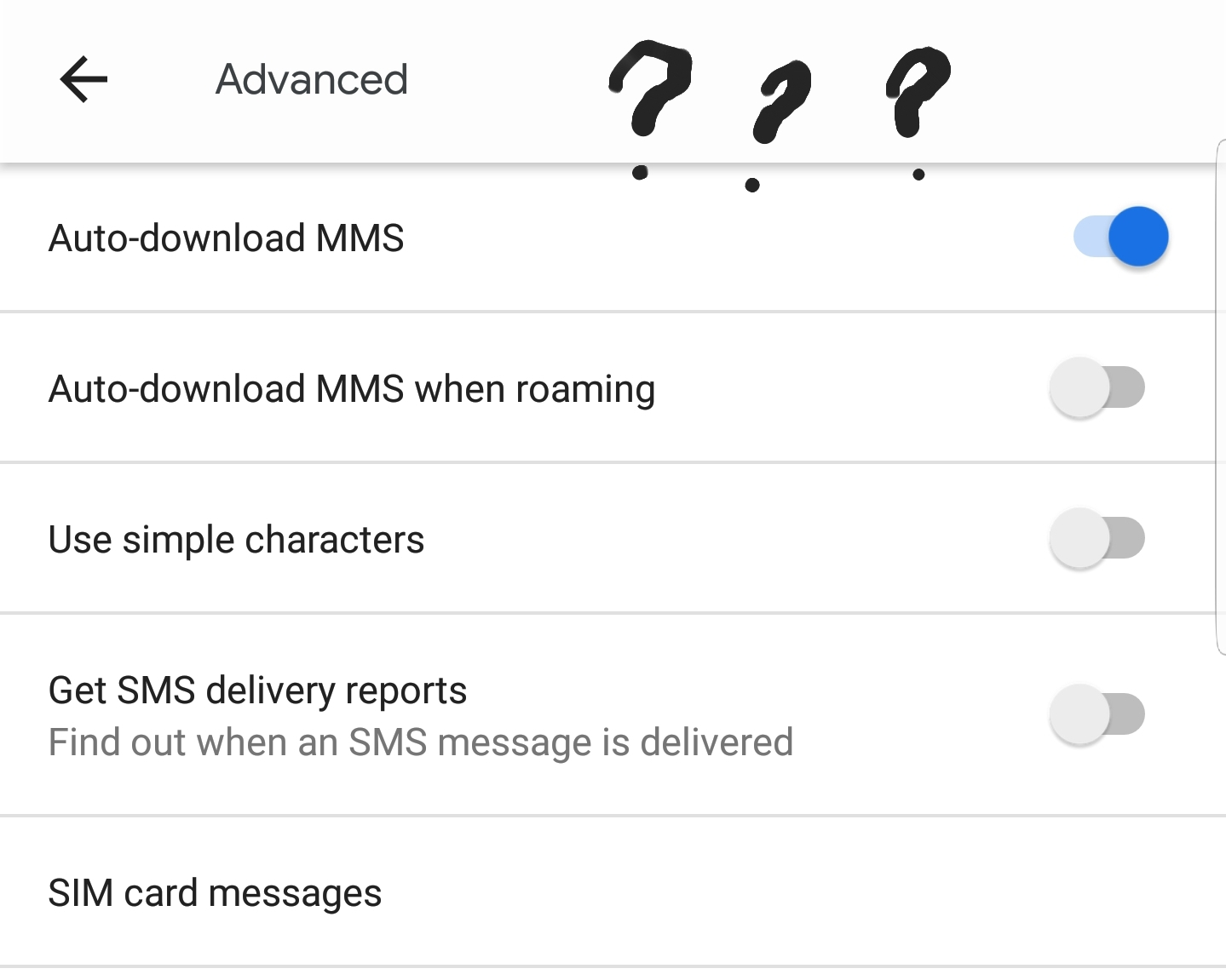Can't use Google messages chat feature - Messages Help