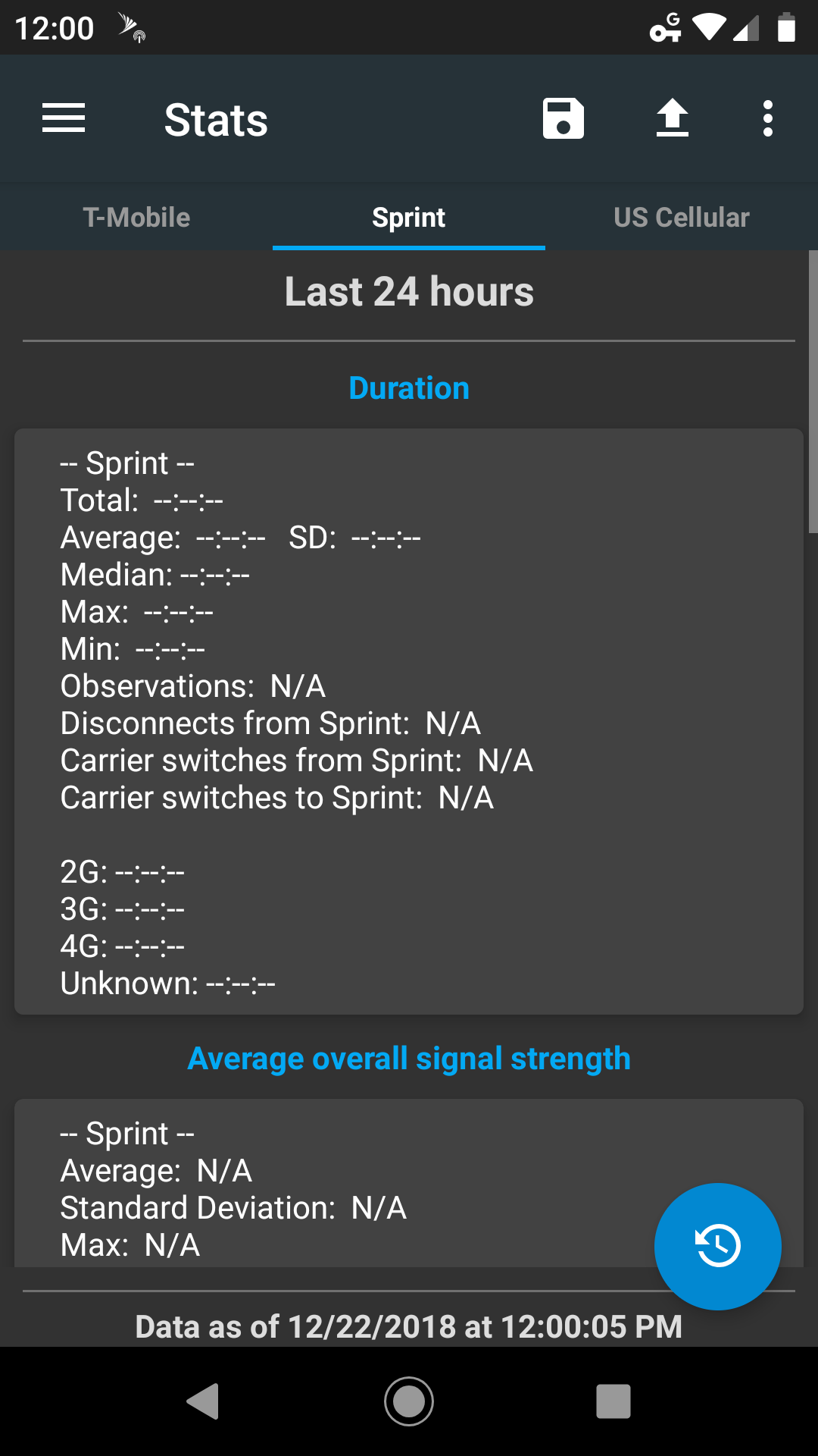 Tips for: Couldn't Maximize Coverage and Intermittent signal
