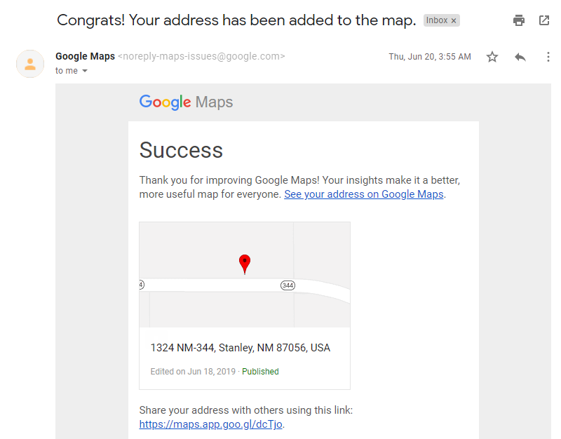 My Address And Location Are Wrong Google Maps Help