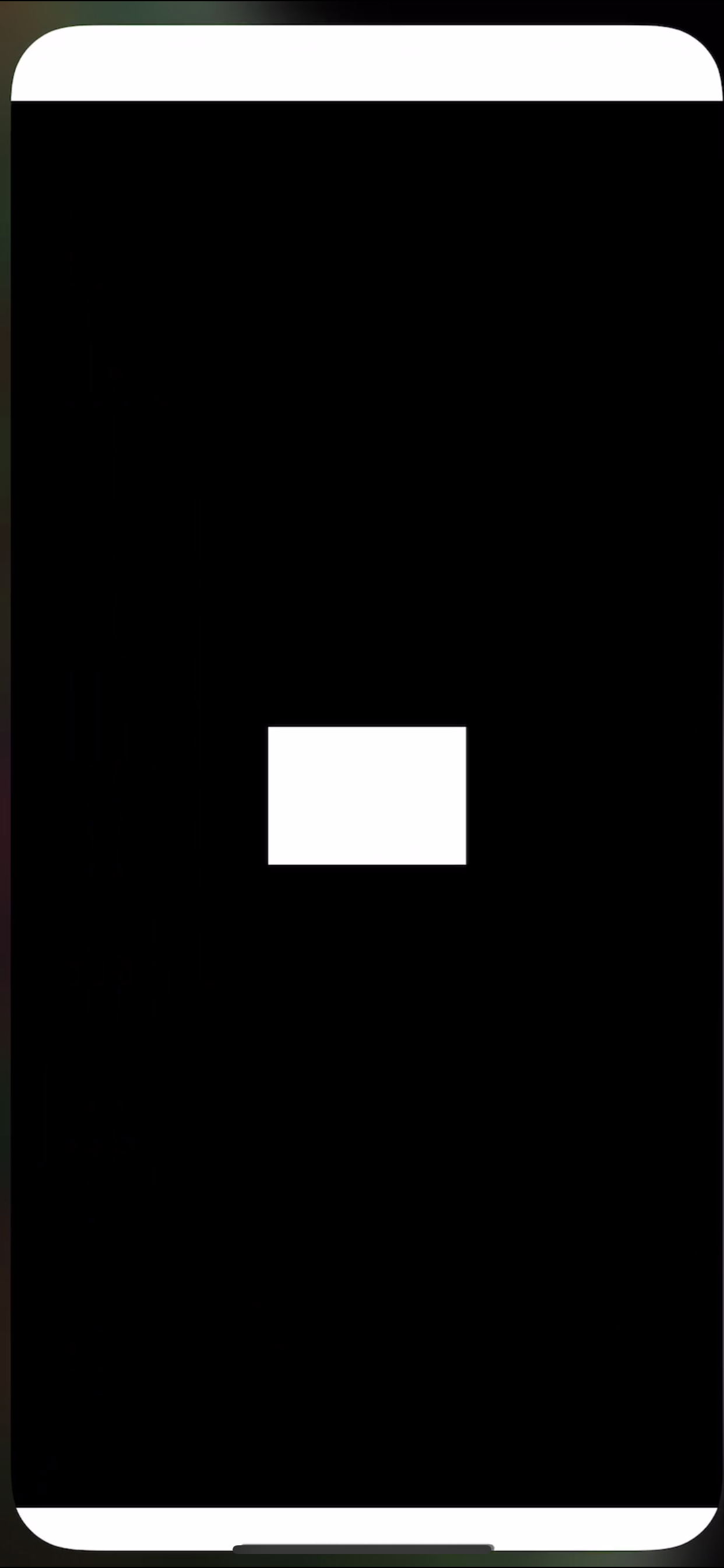 White box appears whenever opening Youtube app - YouTube Help