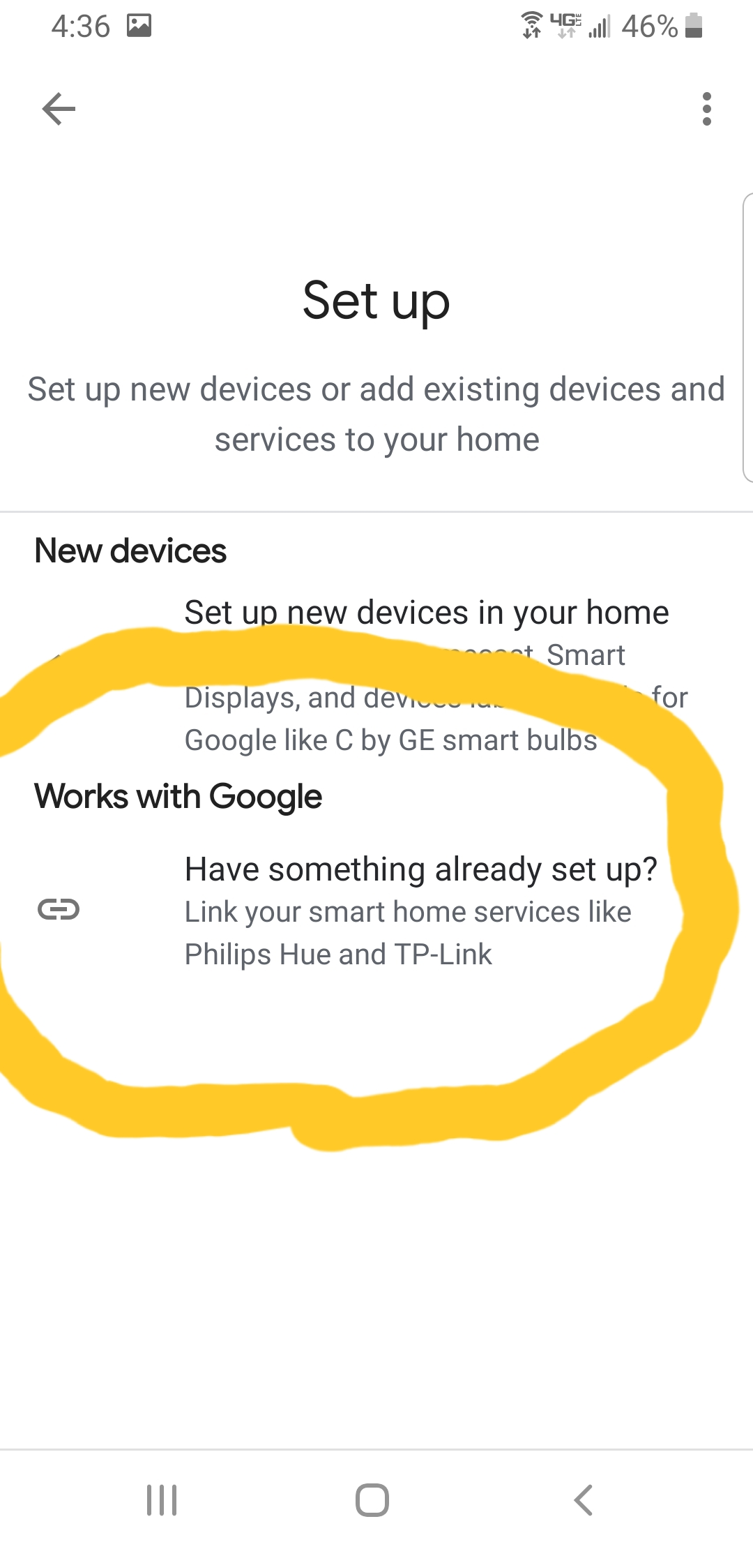 Google home unable to find devices  I get