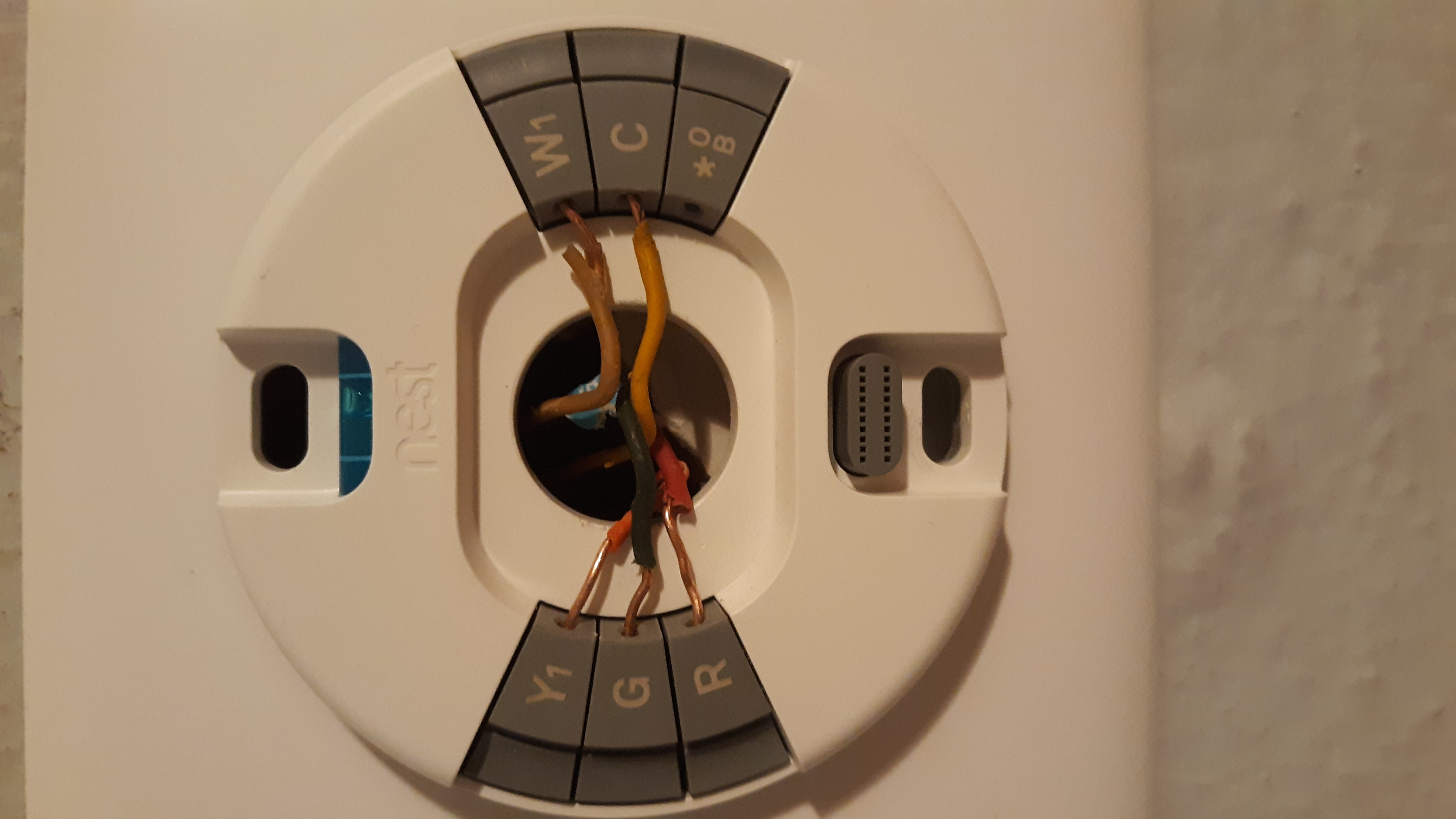 Can Anyone Decipher This Thermostat Wiring Mess Google Nest Community