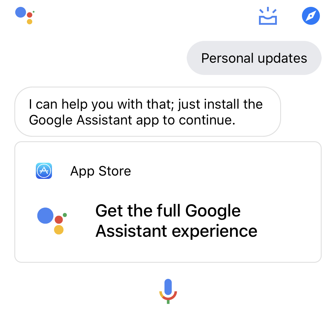 When will Google Assistant be available in Greece for iOS