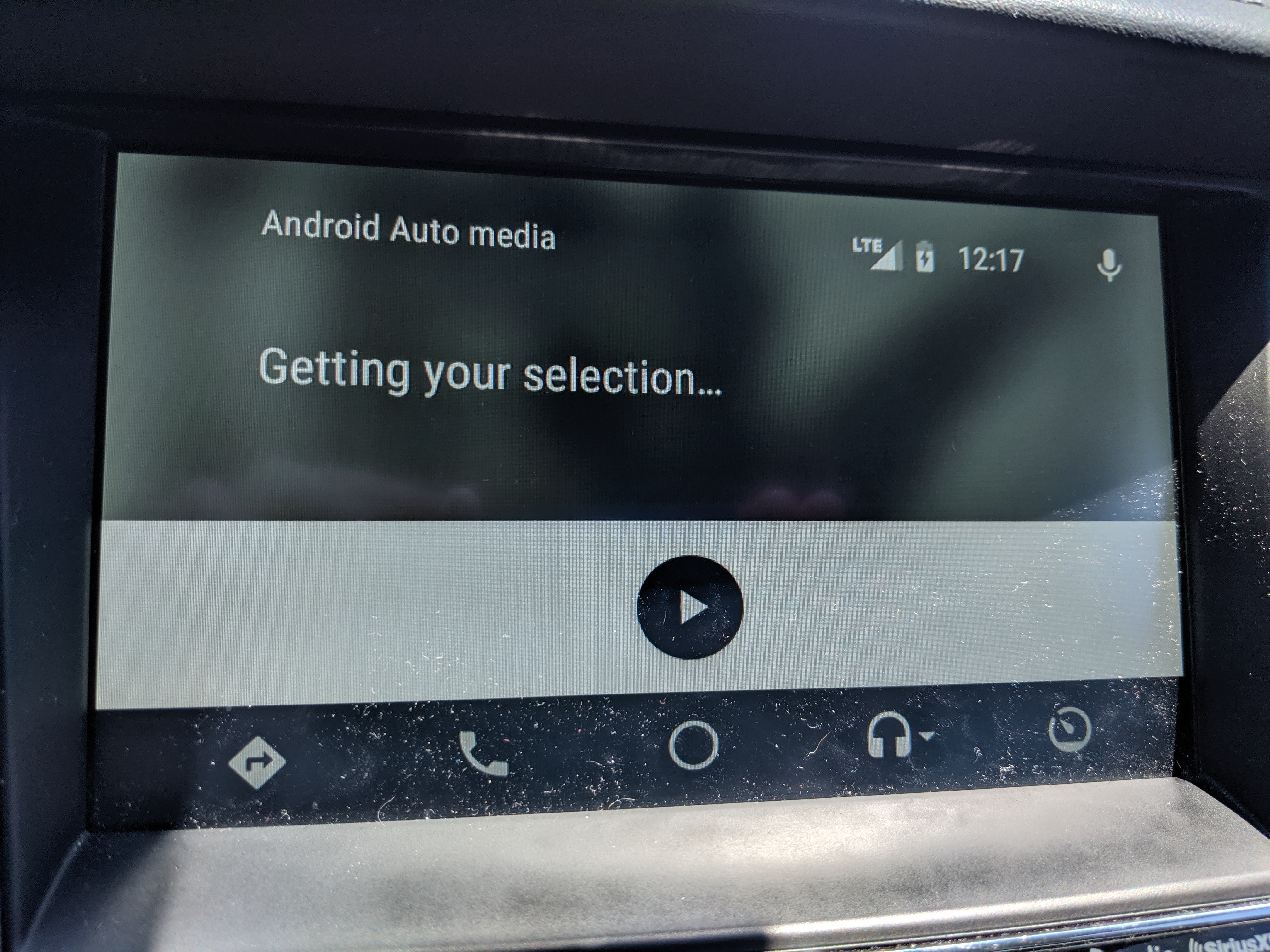 YouTube Music gets stuck on Android Auto media  Getting your