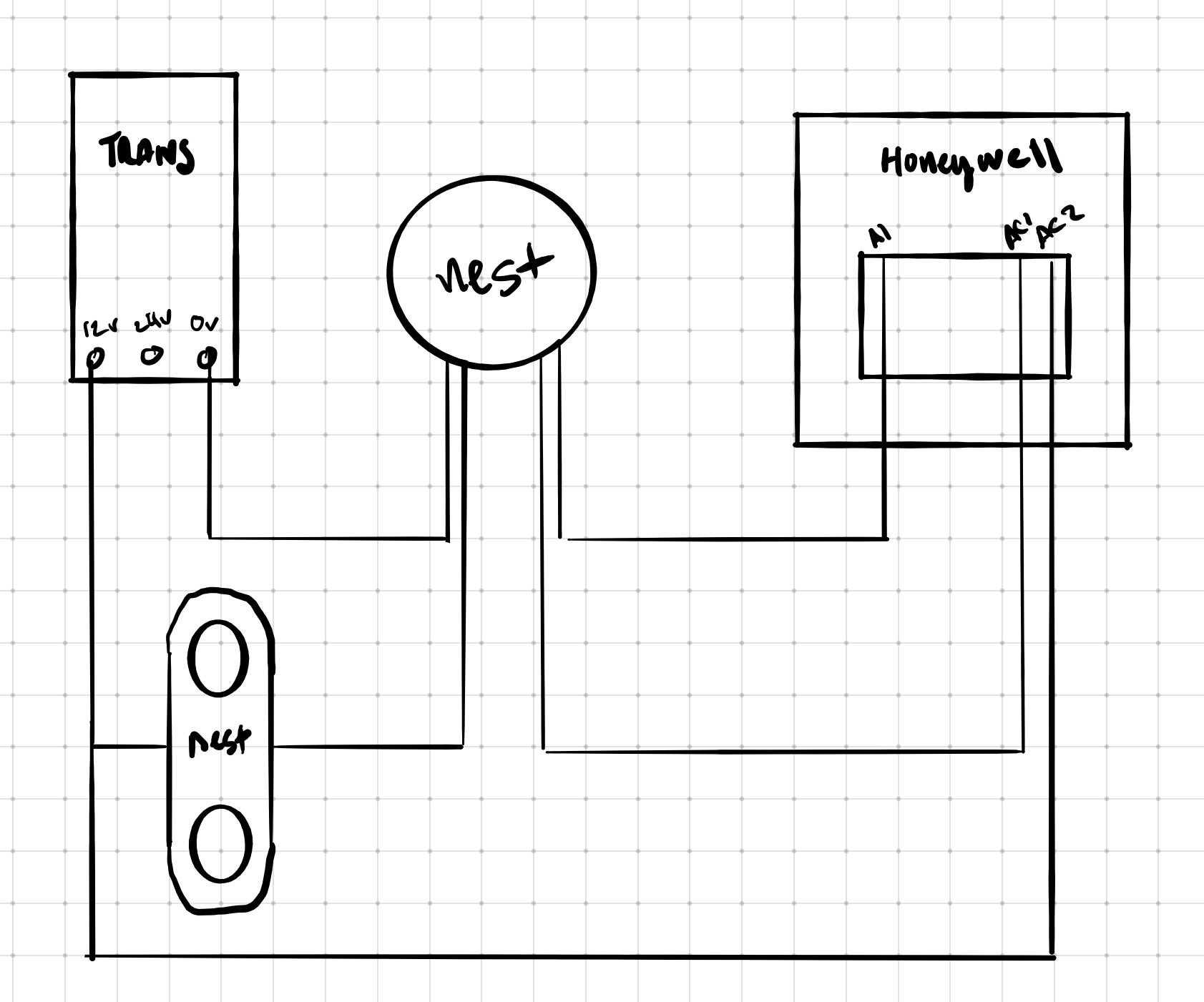 Wiring Diagram For Nest Hello To Honeywell Wired Chime Google