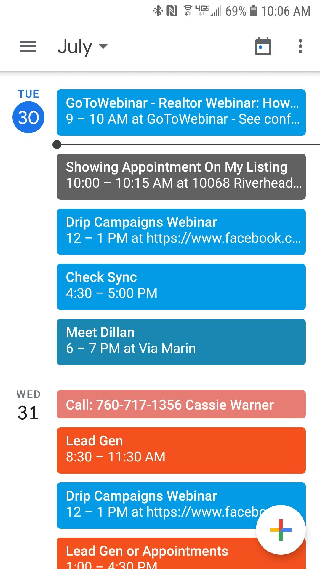 100 Images of Calendars That Sync With Android