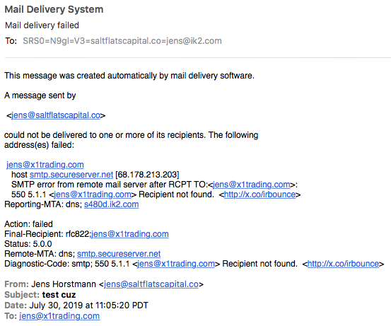 Gmail not updating MX DNS change from GoDaddy - Google