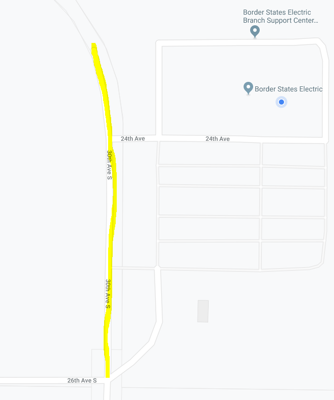 Need help updating a street on Google Maps. Google will not ...