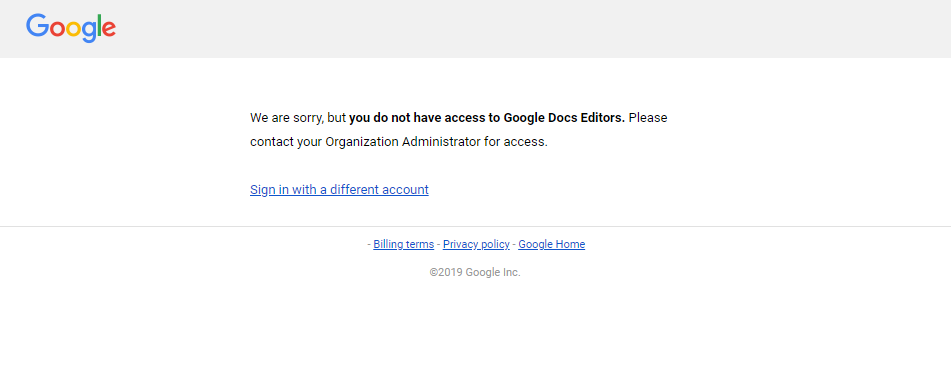 Google Forms: DRIVE EDITOR needed for auto-collect email and domain