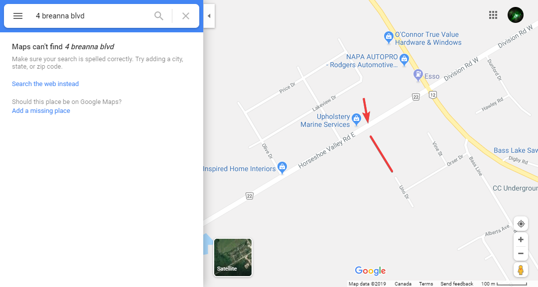 My street I've added has been in review for almost a month now