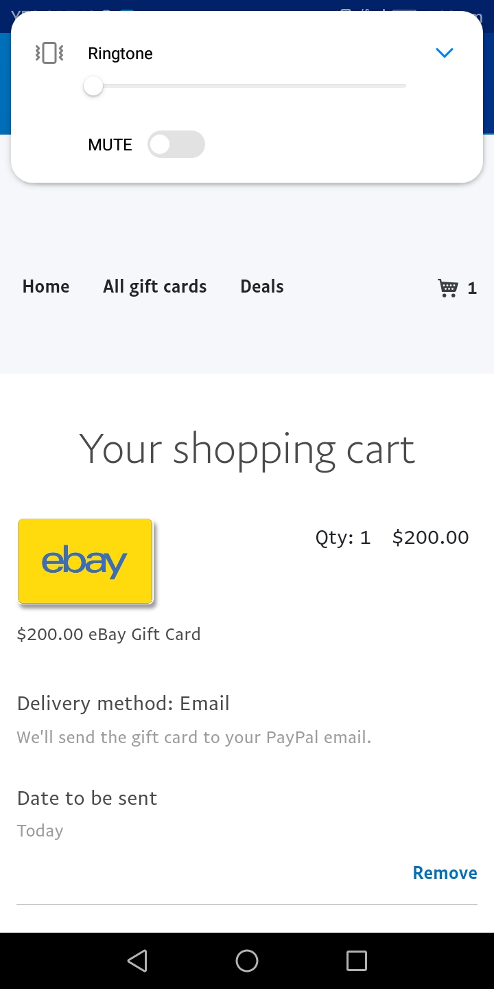 I Got A Email About An Ebay Card I Purchased I Need To Redeem The Voucher Sites Community