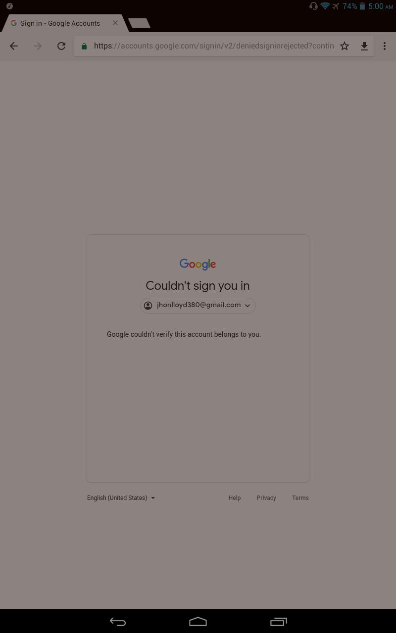 I forgot my password - Google Account Help