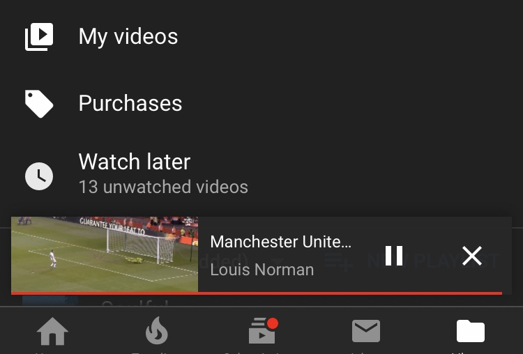 How do I remove the recommended next videos pop up at the end of a video?  Using iPhone app - YouTube Community