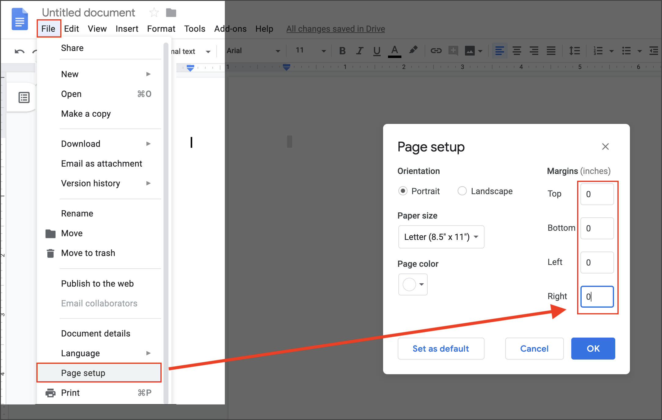 Step By Step On How To Completely Remove Headers Footers Docs Editors Community There are a number of ways you can go about this. completely remove headers footers