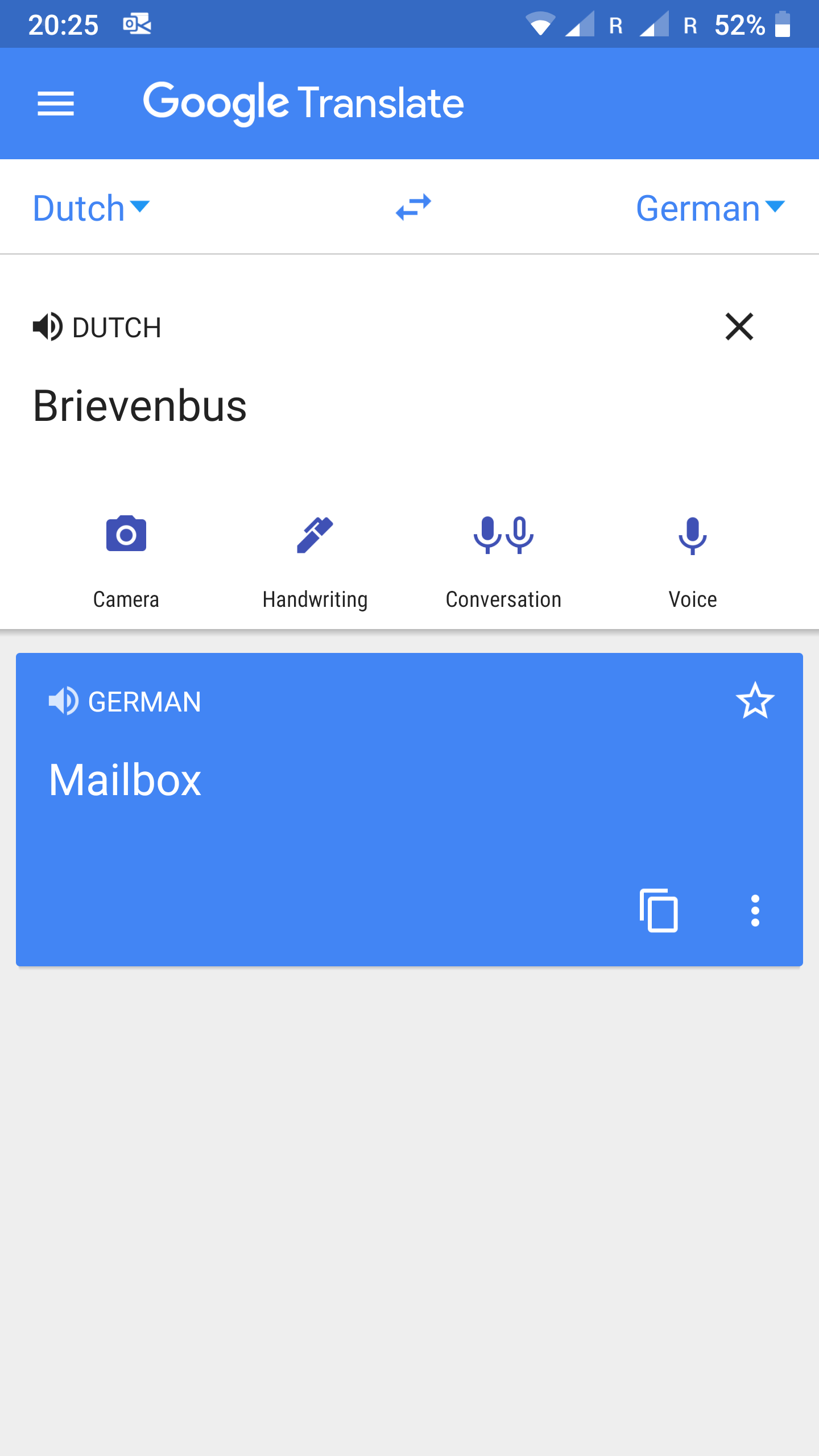 Translate to english from german