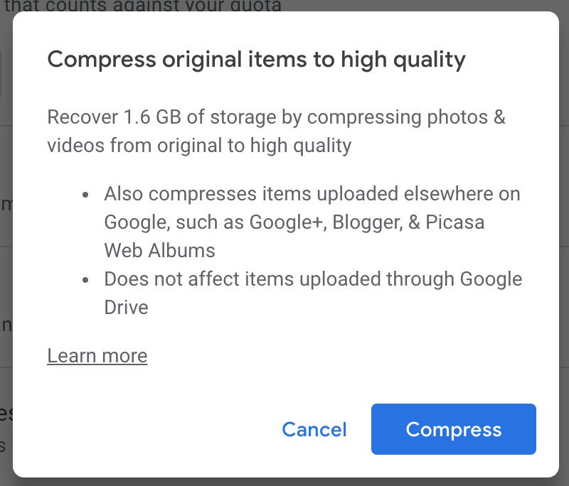 How to view only those pictures that are taking my google