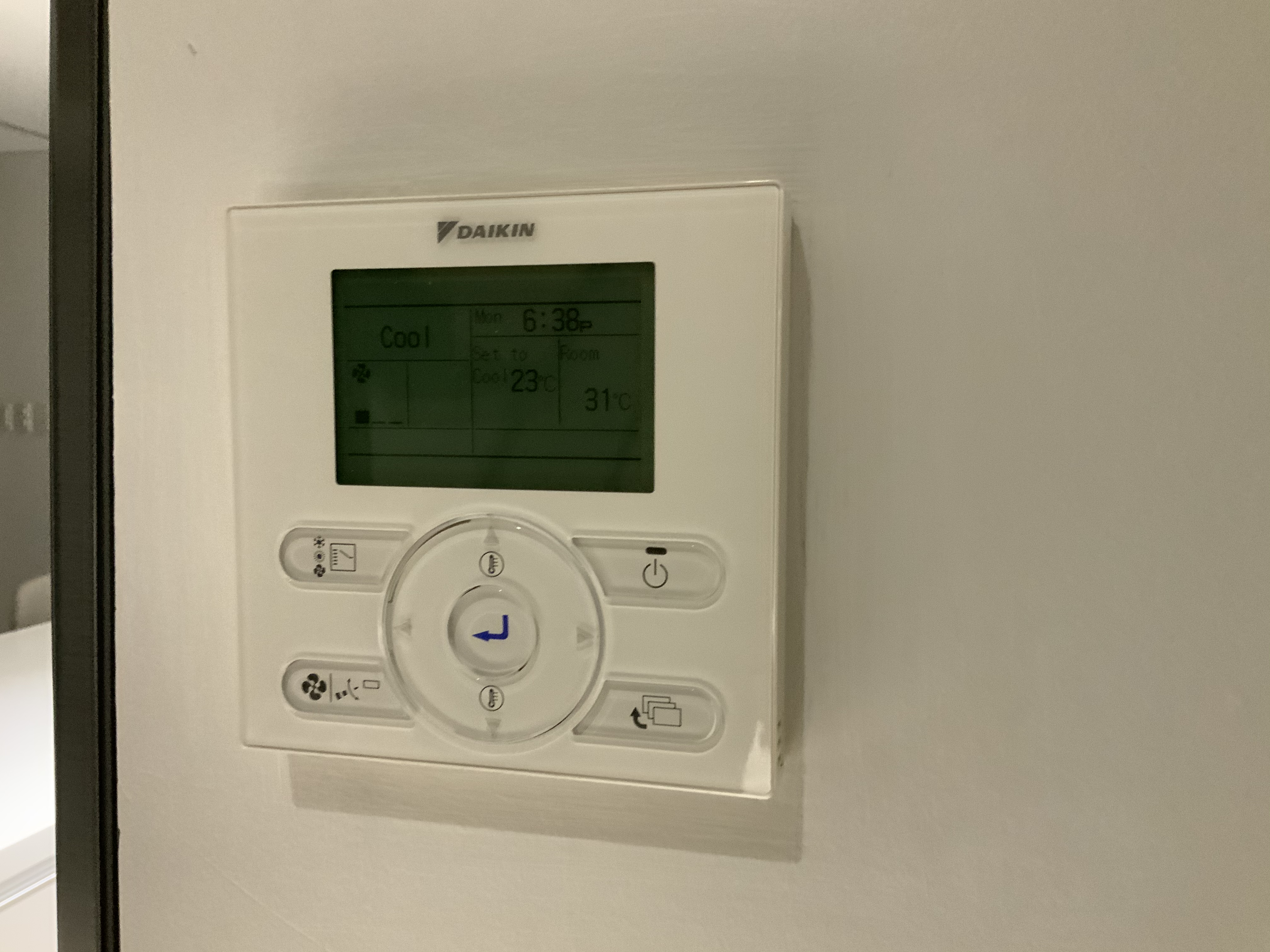 Replacing Daikin Wired Remote with Nest Learning Thermostat