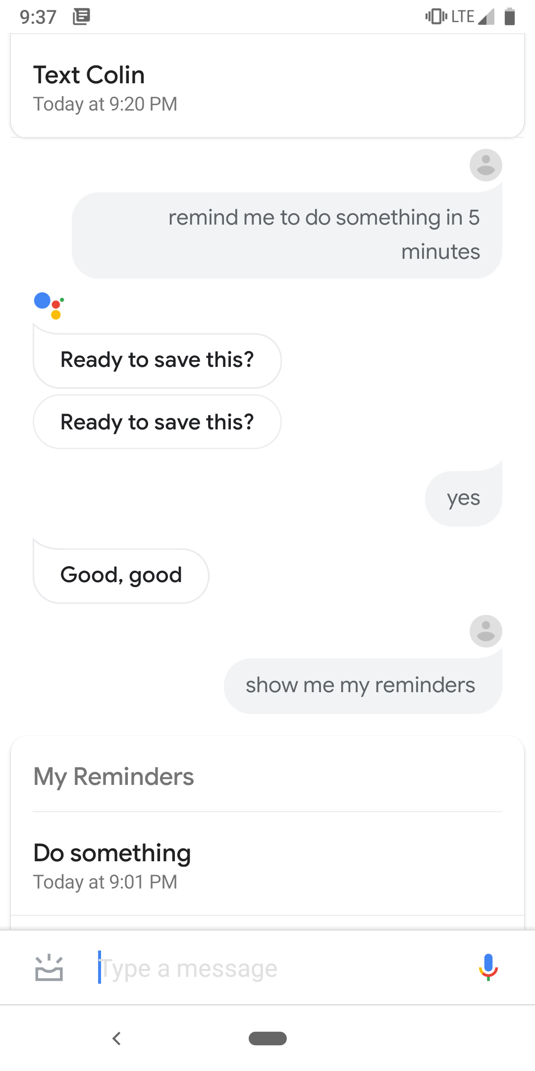 Assistant reminder not showing notifications - Google