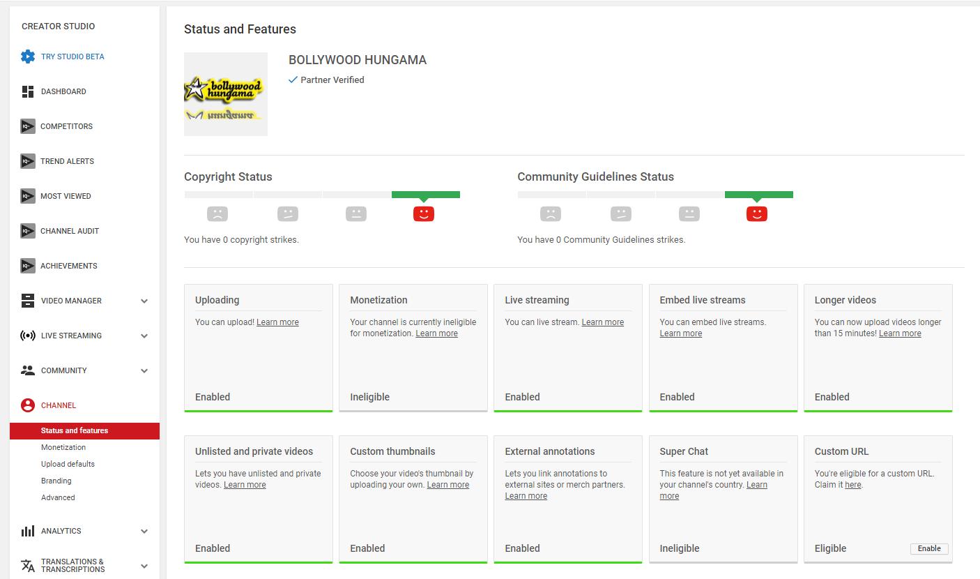 Ineligible Monetization - My Youtube Help