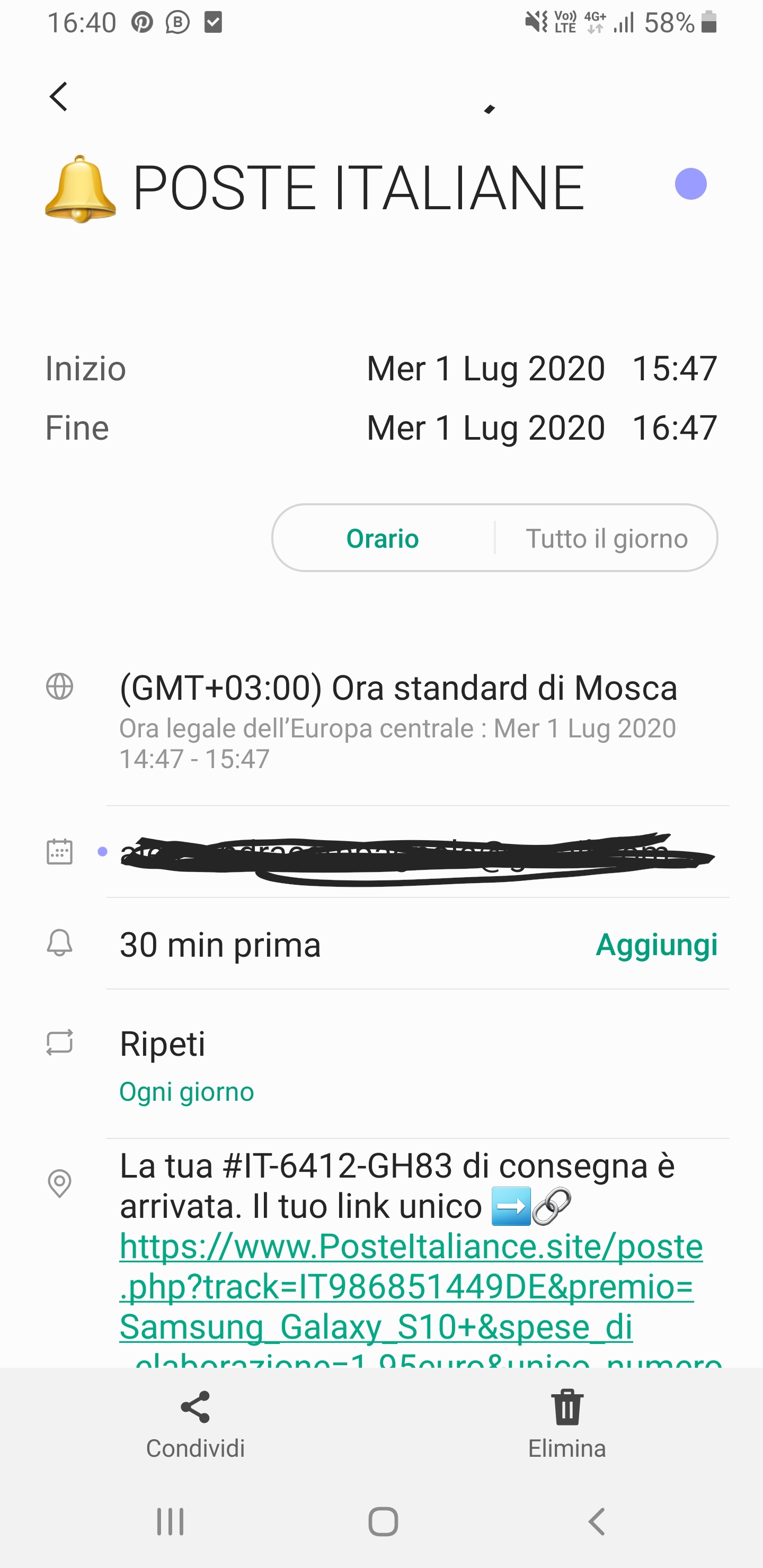 Notifiche Calendario Android.Virus G Calendar Sui Giorni Del Calendario Appare Un