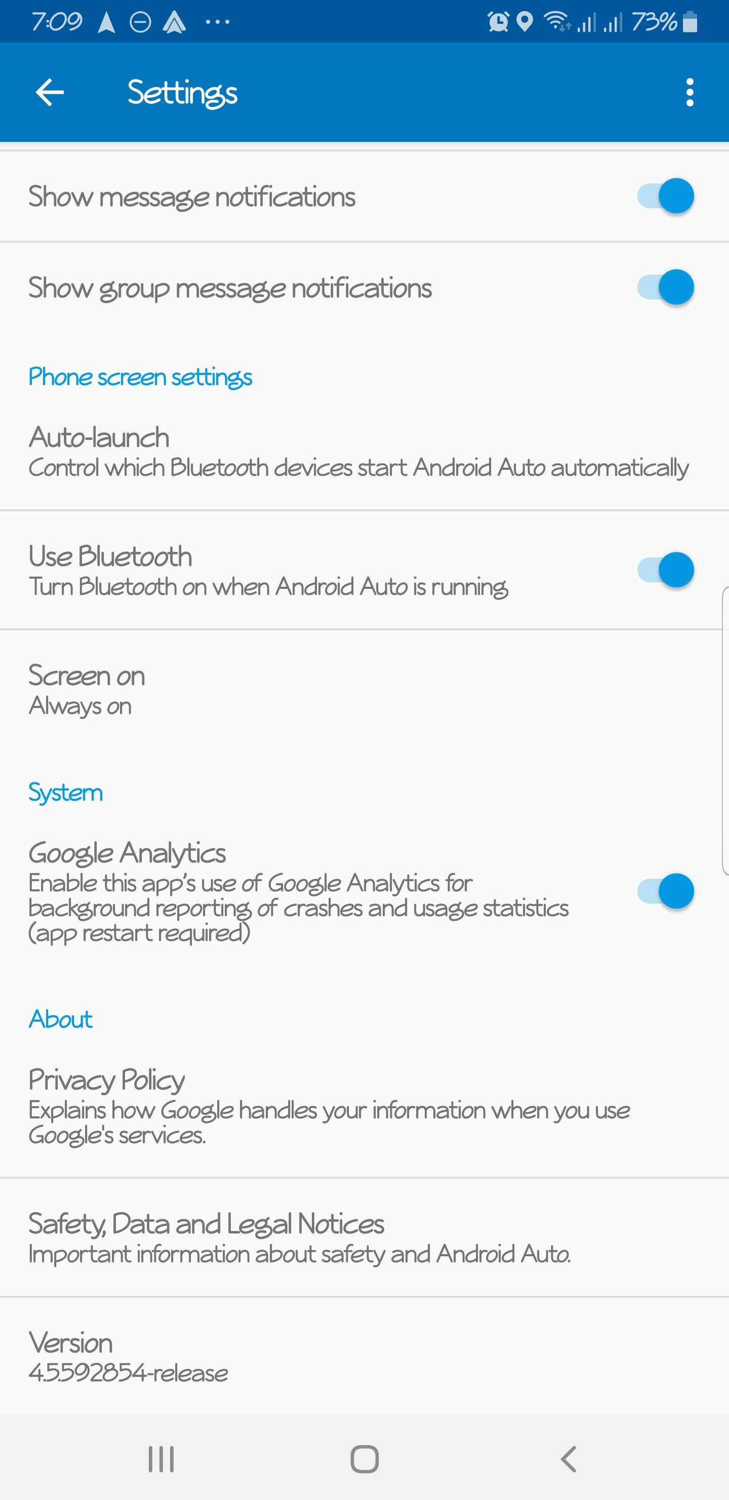 How to activate new interface - Android Auto Help