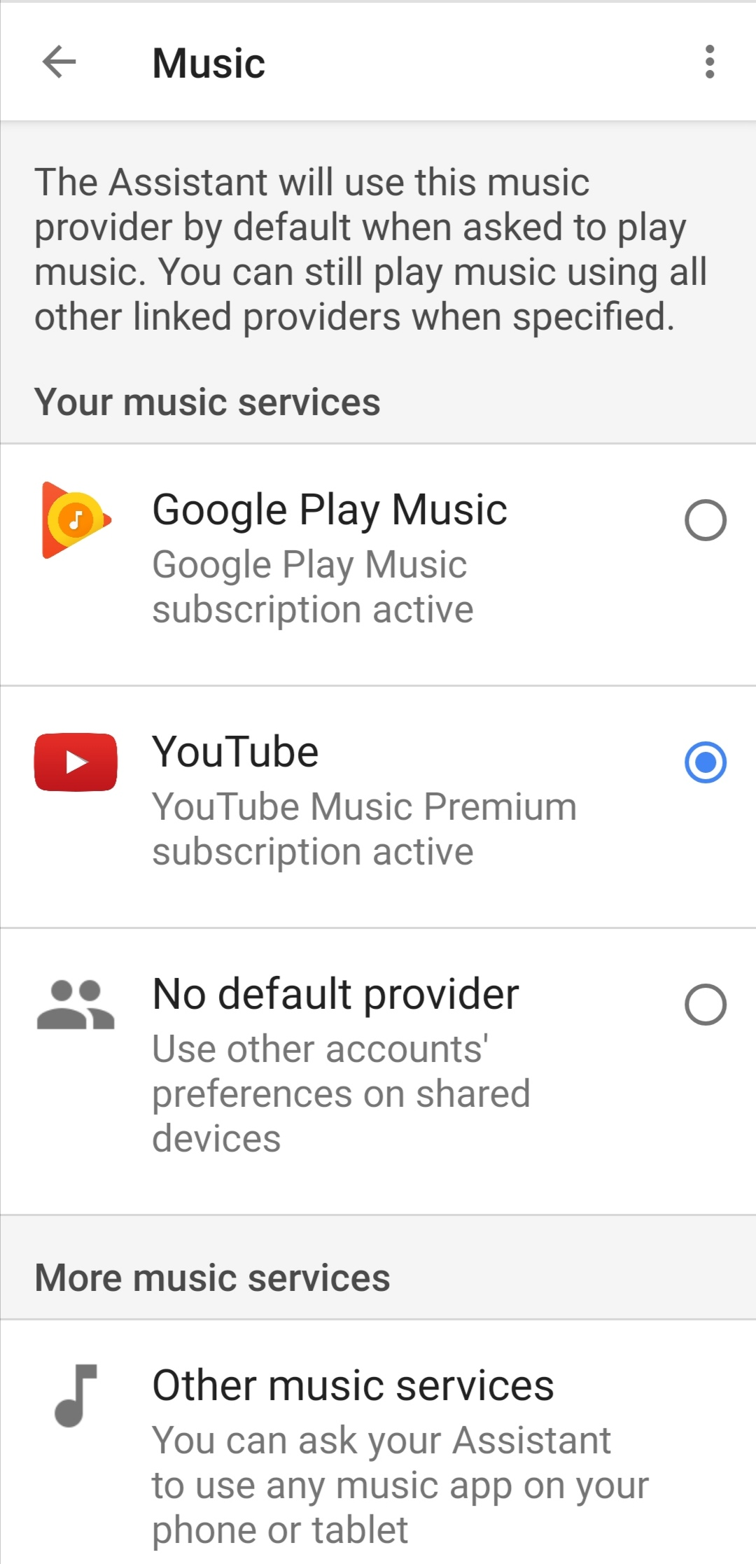 Assistant Can T Distinguish Between Youtube Music And Youtube Video Apps Youtube Music Community
