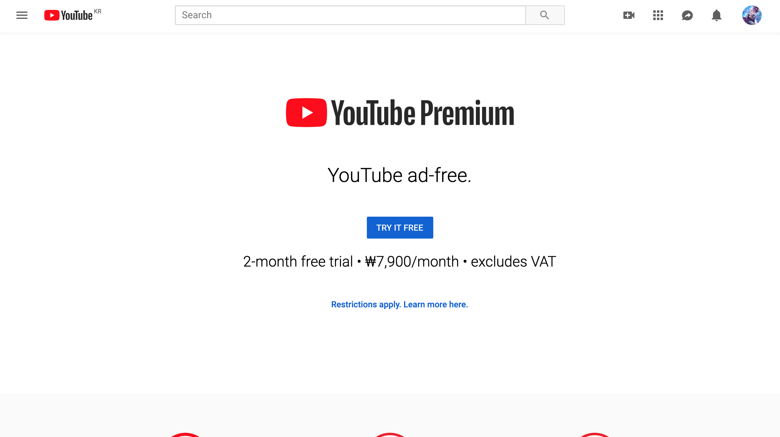 Why Is Youtube Music Blocked It Redirects When I Type In Music Youtube Com To Youtube Premium Youtube Community