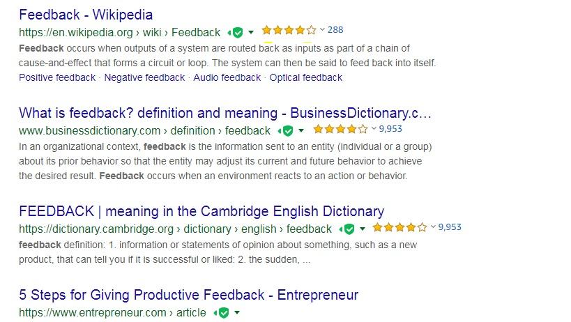 Google Feedback - Sites Help