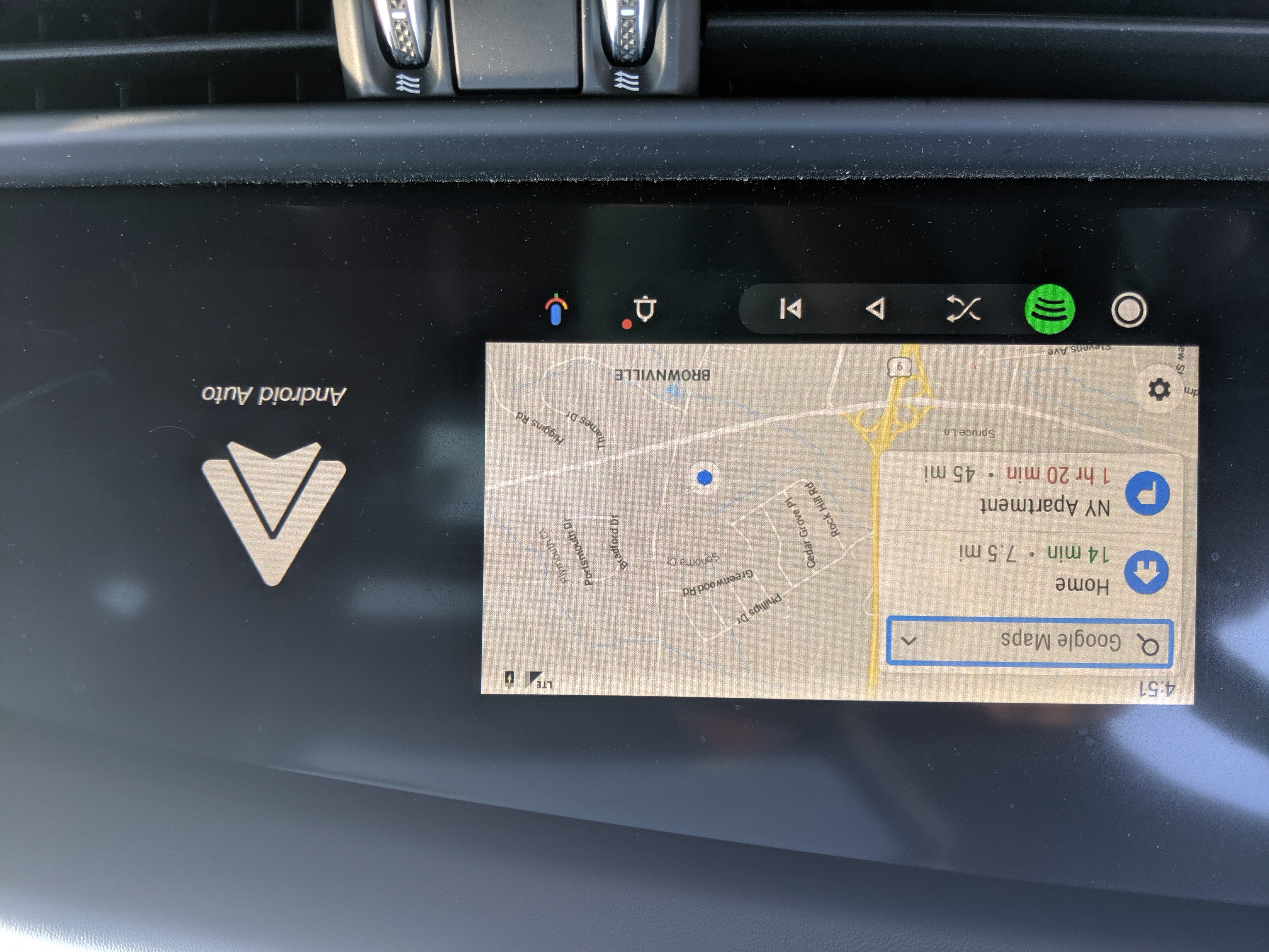 D And A Auto >> Android Auto Update Cut Off Screen Display Android Auto Help