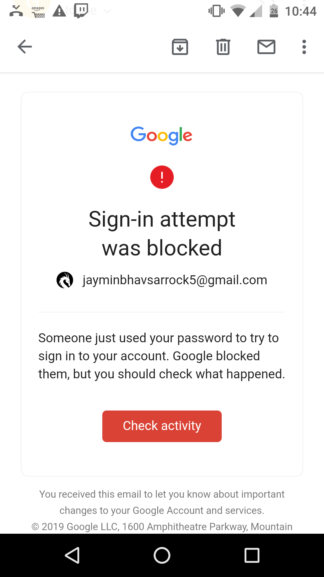 Why everyone esaly hacked my Gmail account from Russia he