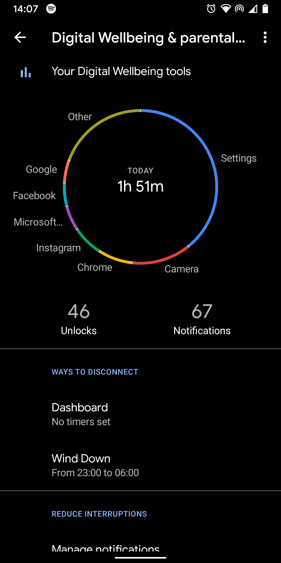 No focus mode on Android 10 - Pixel Phone Help