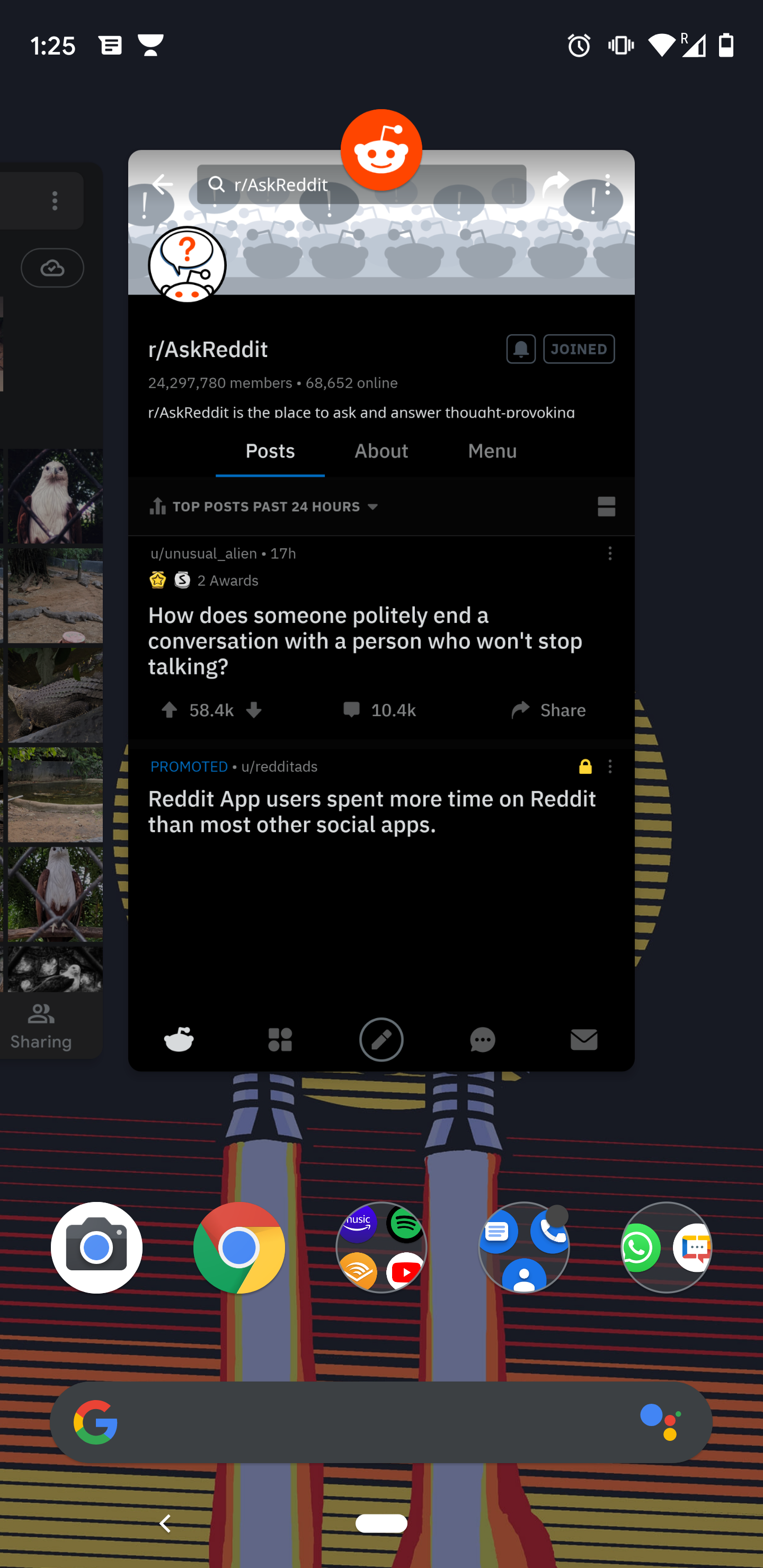 Pixel 3 XL. Android 10: Most used apps list not visible during the short  swipe up for open apps. - Pixel Phone Community